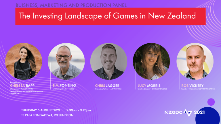Panel: The Investing Landscape of Games in New Zealand