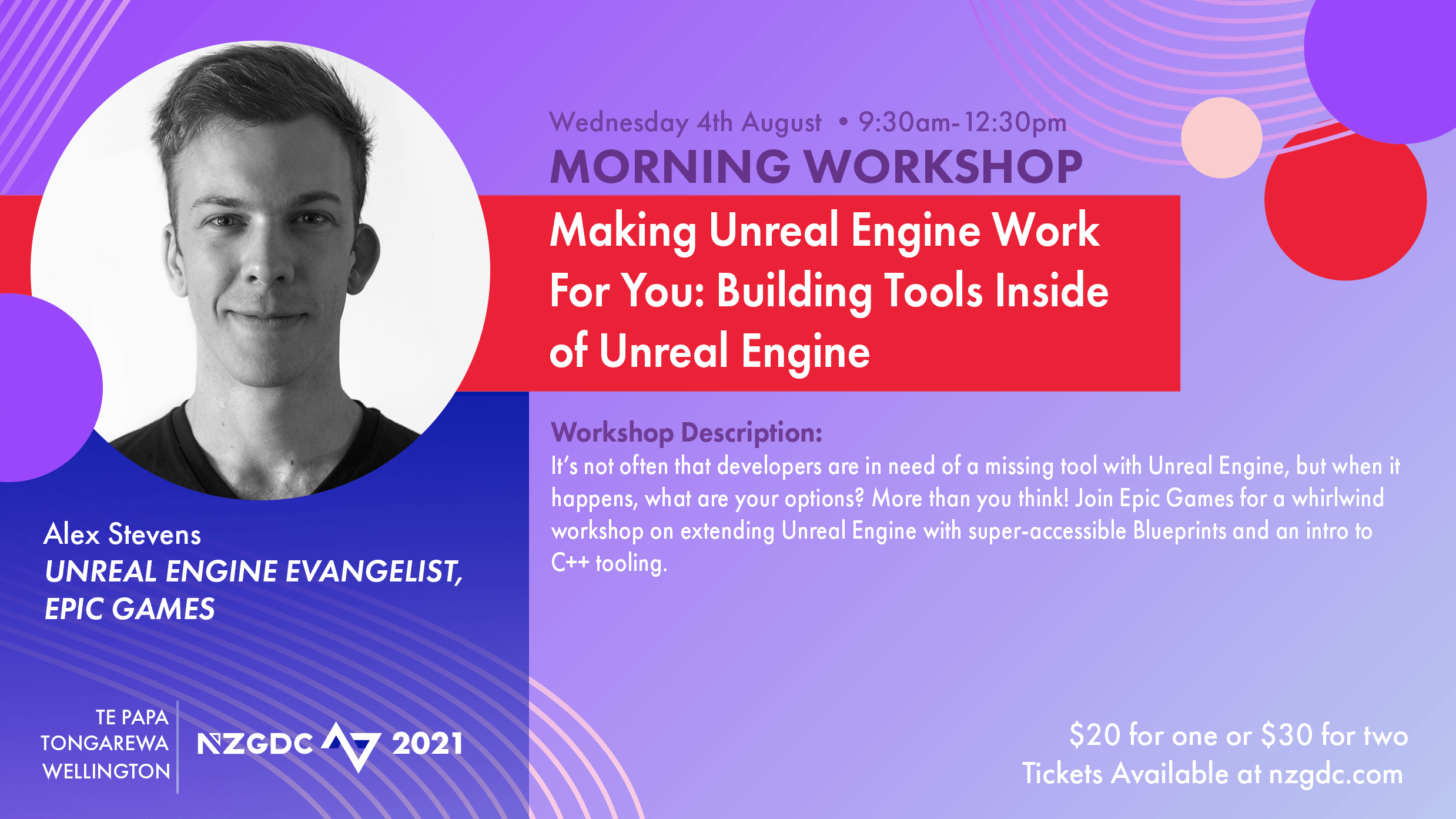 Making UE Work For You: Building Tools Inside of Unreal Engine