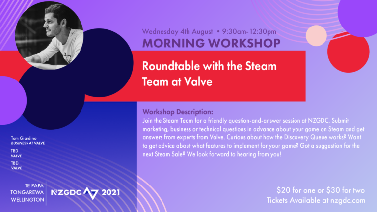 Roundtable with the Steam Team at Valve