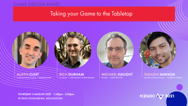 Panel: Redesigning your game for tabletop