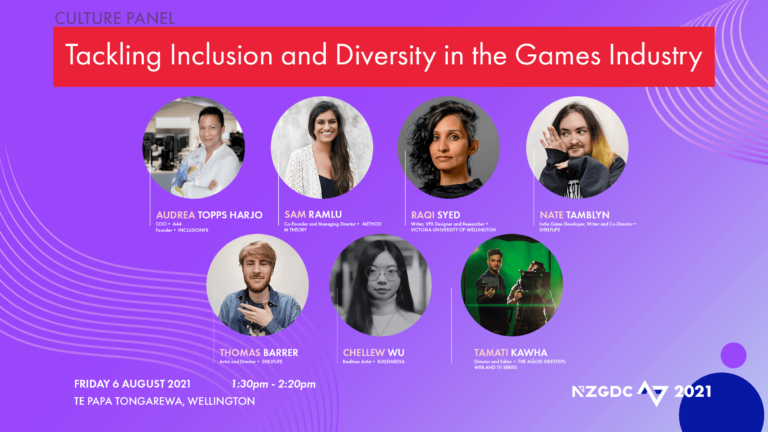 Panel: Tackling Inclusion and Diversity in the Games Industry