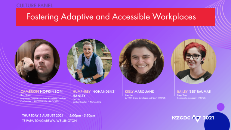 Panel: Fostering Adaptive and Accessible Workplaces