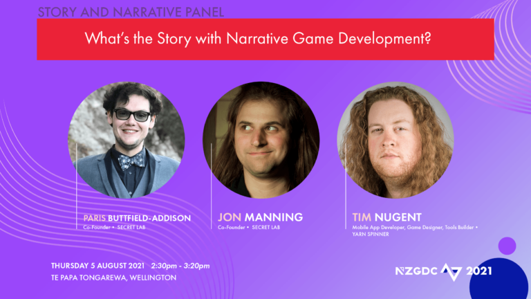 Panel: What's the story with narrative game development?