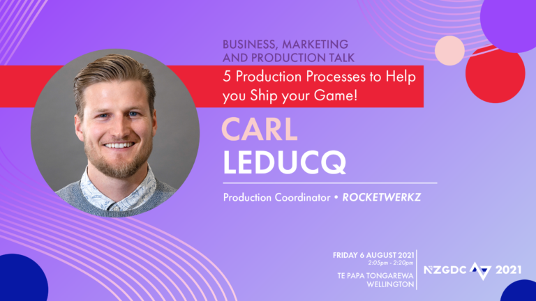 5 Production Processes to help you ship your game!