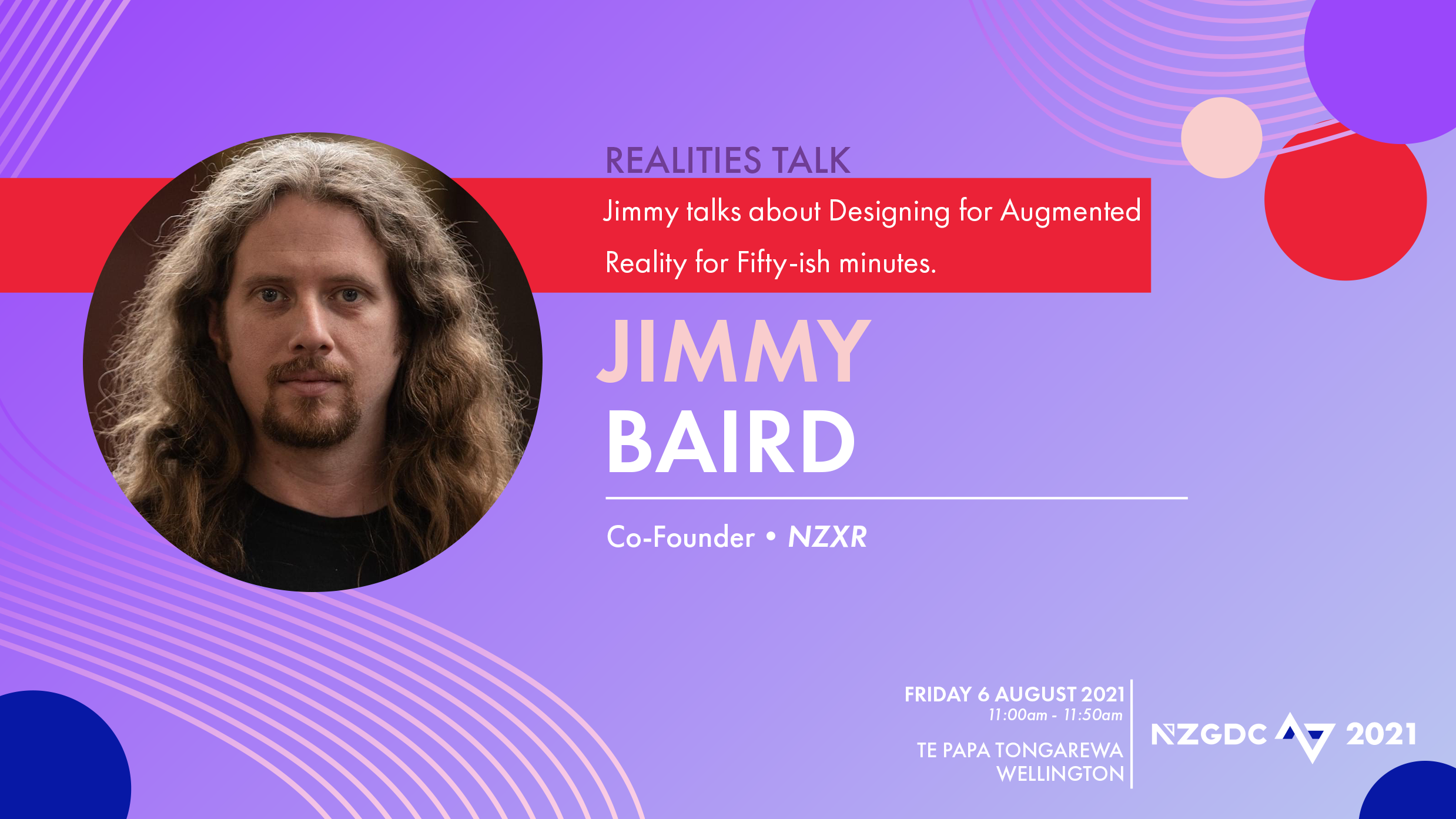 Jimmy Talks About Designing for Augmented Reality for Fifty-ish Minutes.