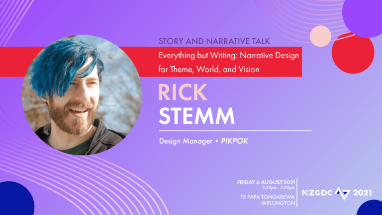 Everything but Writing: Narrative Design for Theme, World, and Vision